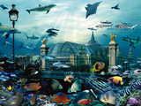 Grand Palais Aquarium Posters by Patrick Le Hec´h