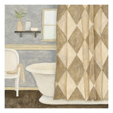 Patterned Bath I Print by Megan Meagher