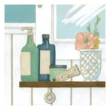 Classic Bath III Premium Giclee Print by Chariklia Zarris