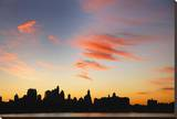 Lower Manhattan Skyline Stretched Canvas Print by Dale MacMillan