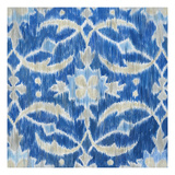 Royal Ikat I Prints by Megan Meagher