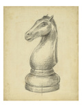 Antique Chess IV Prints by Ethan Harper