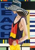 Femme 9 Posters by Anne Bernard