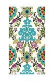 Jewel-Tone Damask V Prints by Erica J. Vess