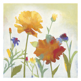 Chelsea Floral I Art by Megan Meagher