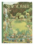 The New Yorker Cover - June 27, 1953 Premium Giclee Print by Ilonka Karasz