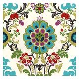 Jewel-Tone Damask I Kunst von Erica J. Vess