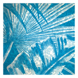 Damask Palms II Posters by  Vision Studio