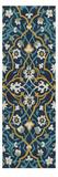 Cobalt Tapestry I Poster by Chariklia Zarris