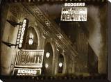 Rodgers Theatre Stretched Canvas Print by Dale MacMillan