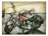 Motorcycle Memories II Prints by Jennifer Goldberger