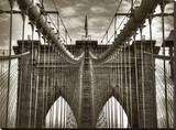 Brooklyn Cables Reproduction transférée sur toile par Dale MacMillan