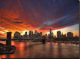 Manhattan Glow Leinwand von Dale MacMillan