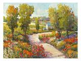 Morning Walk I Giclee-tryk i høj kvalitet af Tim O'toole
