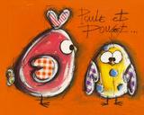 Poule et Poulet Posters by Carine Mougin