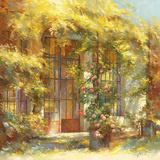 L'orangerie Print by Johan Messely