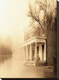 Virginia Manor Stretched Canvas Print by Yanni Theodorou