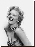Marilyn Glamour Stretched Canvas Print