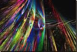 Flame Burst Lærredstryk på blindramme af Tatiana Lopatina