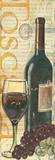Wine & Grapes I Posters af Debbie DeWitt