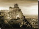 Thespian Fortress Stretched Canvas Print by Yanni Theodorou