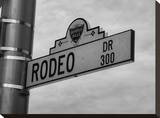 Rodeo Drive 1 Stretched Canvas Print by Dale MacMillan