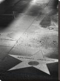 Jackson Star Lærredstryk på blindramme af Dale MacMillan