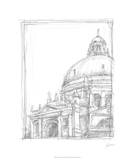 Sketches of Venice II Premium Giclee Print by Ethan Harper