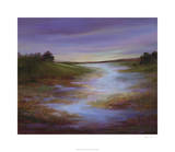 Light at Dusk I Premium Giclee Print by Sheila Finch