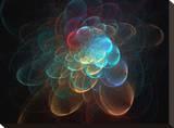 Explosion I Stretched Canvas Print by Tatiana Lopatina
