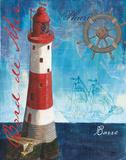La Mer I Plakat af Debbie DeWitt