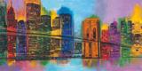 Hello NYC Kunst af Brian Carter