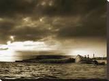Lost Boat Stretched Canvas Print by Yanni Theodorou
