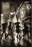Rain Shopping Leinwand von Dale MacMillan