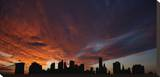 Manhattan Sky Stretched Canvas Print by Dale MacMillan