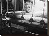 Marilyn's Bed Stretched Canvas Print