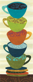 Stacking Cups II Poster von Jeni Lee