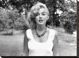 Marilyn Amberbead Stretched Canvas Print