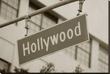 Hollywood Blvd Stretched Canvas Print by Dale MacMillan