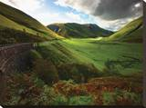 Scotland Valley Stretched Canvas Print by Dale MacMillan