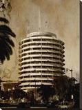 Capitol Records 2 Reproduction sur toile tendue par Dale MacMillan