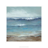 Home by the Sea Premium Giclee Print by Christina Long