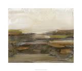 Organic Landscape I Gicléetryck på högkvalitetspapper av Ferdos Maleki