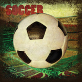 Soccer Square II Posters by Denise Tedeschi