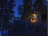 Evening Fire Płótno naciągnięte na blejtram - reprodukcja autor Dale MacMillan