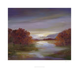 Light at Dusk II Premium Giclee Print by Sheila Finch