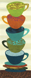 Stacking Cups I Kunst von Jeni Lee