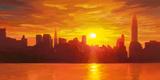 NY - Skyline Prints by Adriano Galasso