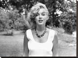 Marilyn Amberbead Reproduction sur toile tendue