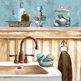 Blue Bath II Plakater af Gregory Gorham